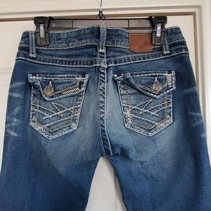 BKE Madison jeans size 28x33.5 stretch